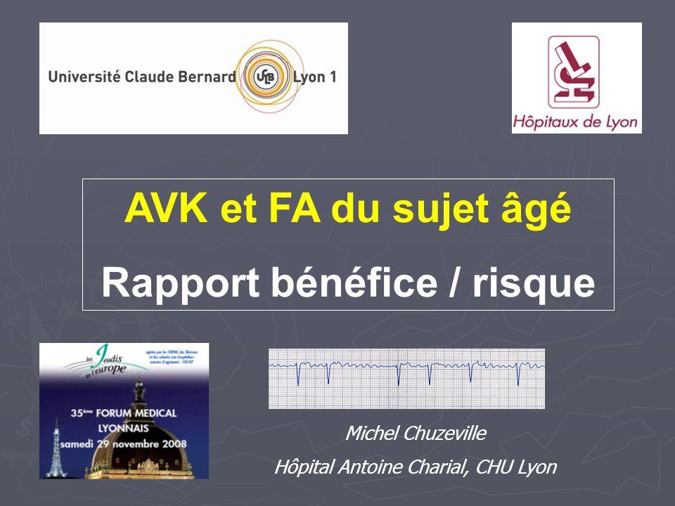 Rapport bénéfice / risque