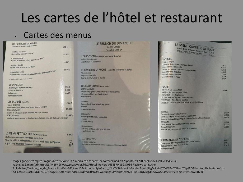 H tel restaurant la ruche ppt t l charger for Carte des formule 1 hotel en france