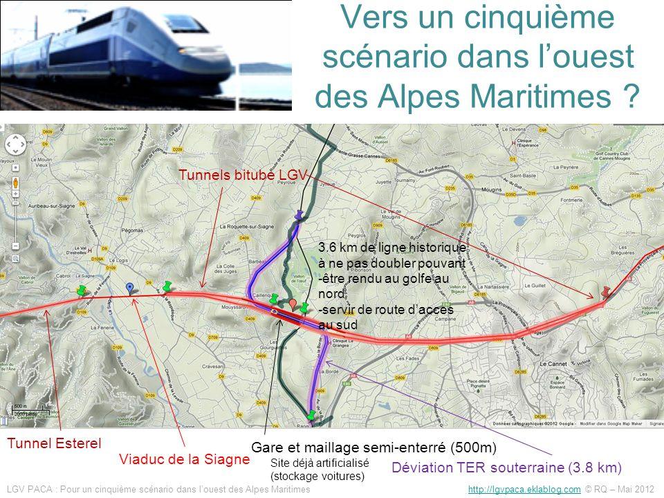 Vers un cinquième scénario dans l'ouest des Alpes Maritimes