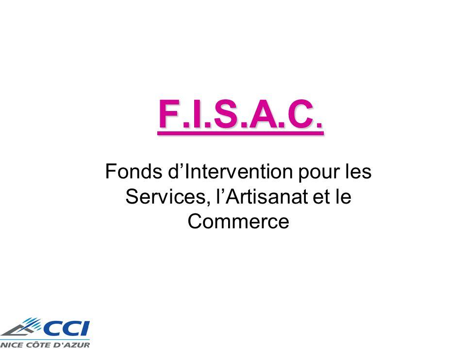 Fonds d'Intervention pour les Services, l'Artisanat et le Commerce