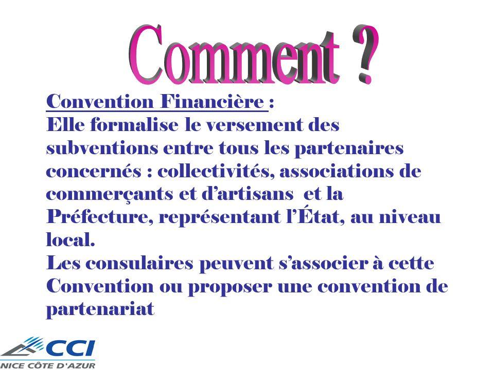 Comment Convention Financière :