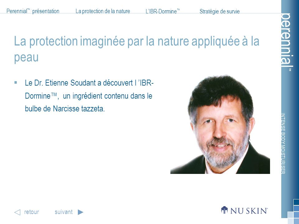 La protection imaginée par la nature appliquée à la peau
