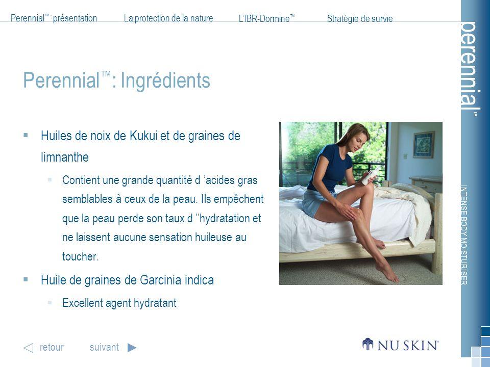 Perennial™: Ingrédients