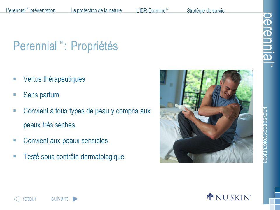 Perennial™: Propriétés