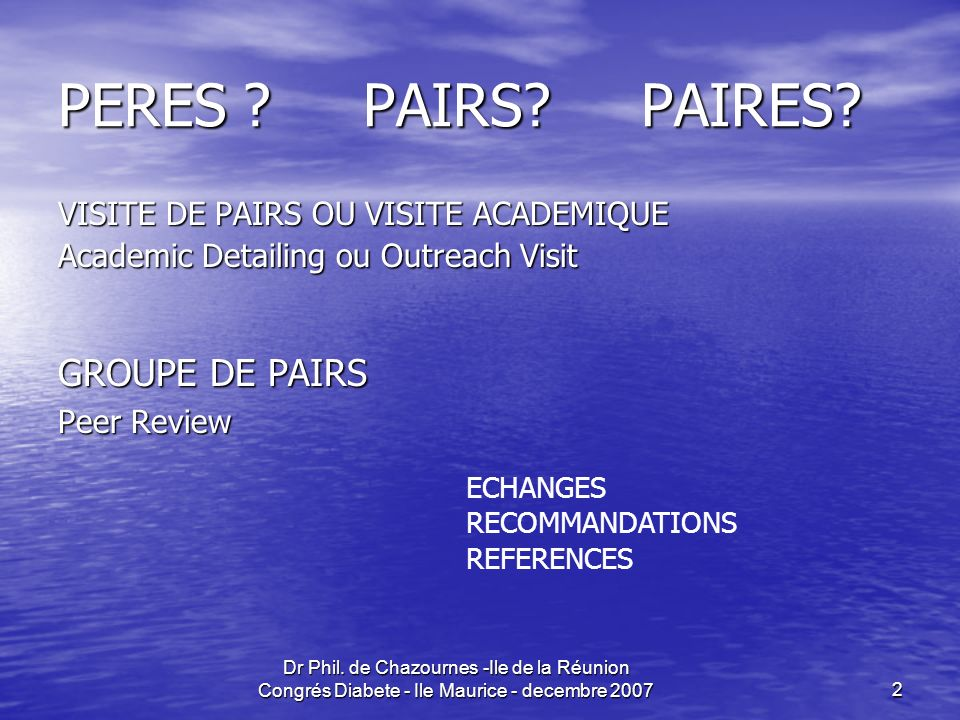 PERES PAIRS PAIRES GROUPE DE PAIRS