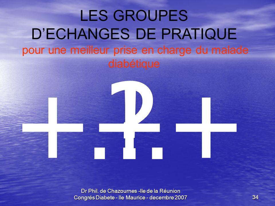 … ! +++ LES GROUPES D'ECHANGES DE PRATIQUE