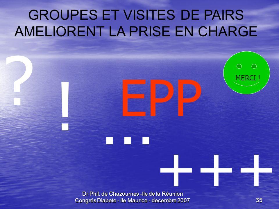 ! … +++ EPP GROUPES ET VISITES DE PAIRS