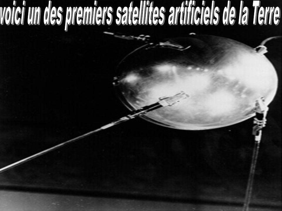 voici un des premiers satellites artificiels de la Terre