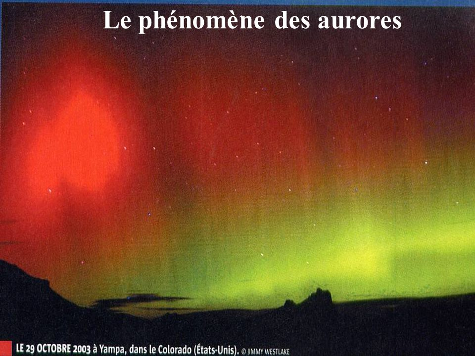 Le phénomène des aurores