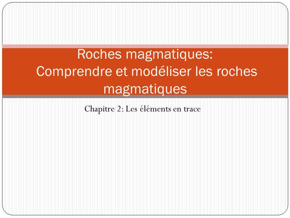 Roches magmatiques: Comprendre et modéliser les roches magmatiques