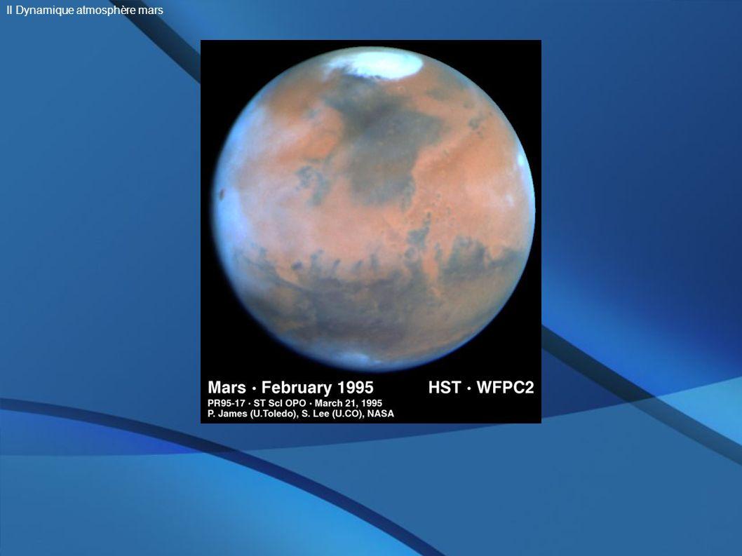 II Dynamique atmosphère mars