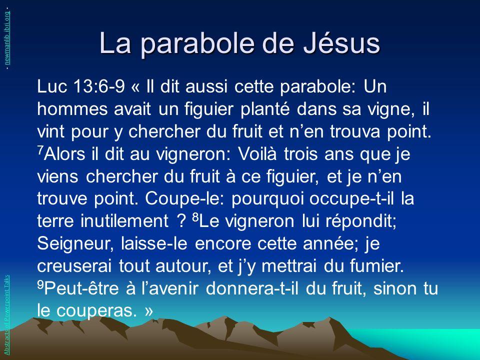 La parabole de Jésus - newmanlib.ibri.org -