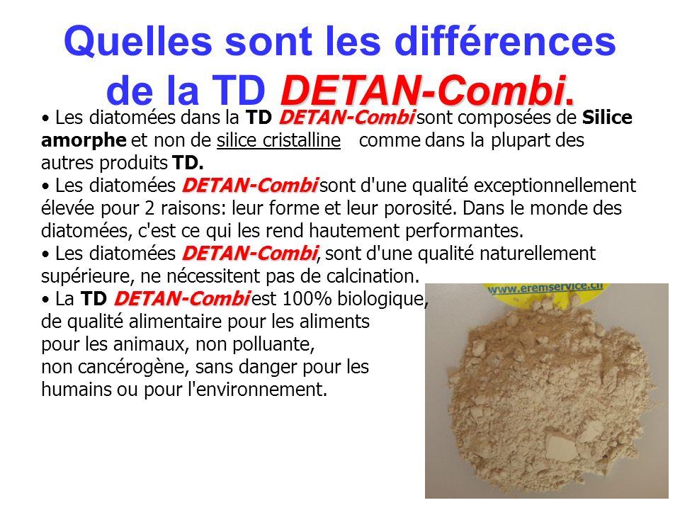 Quelles sont les différences de la TD DETAN-Combi.