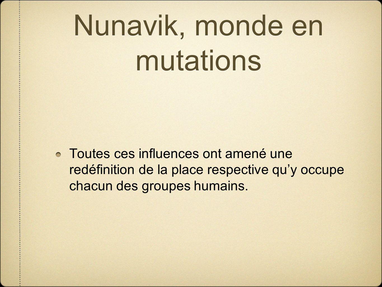 Nunavik, monde en mutations