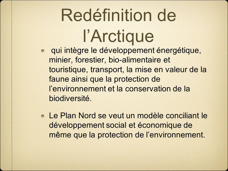 Redéfinition de l'Arctique