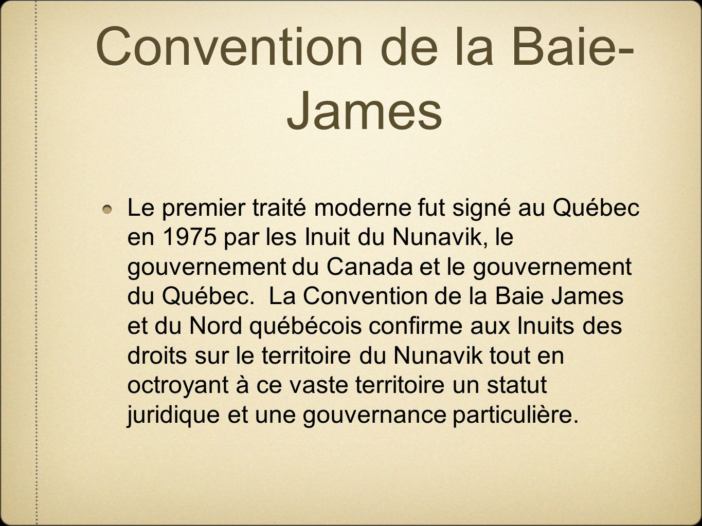 Convention de la Baie-James