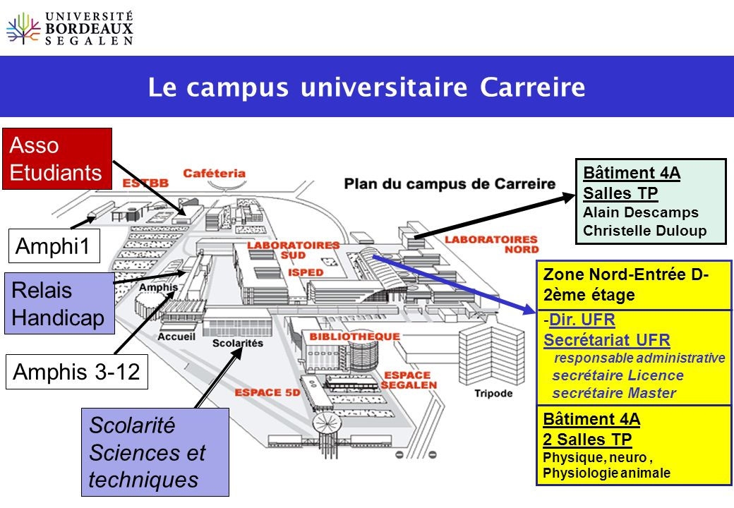 Le campus universitaire Carreire