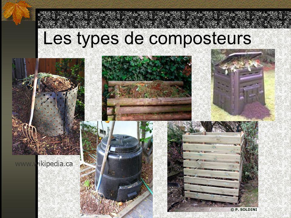 Les types de composteurs