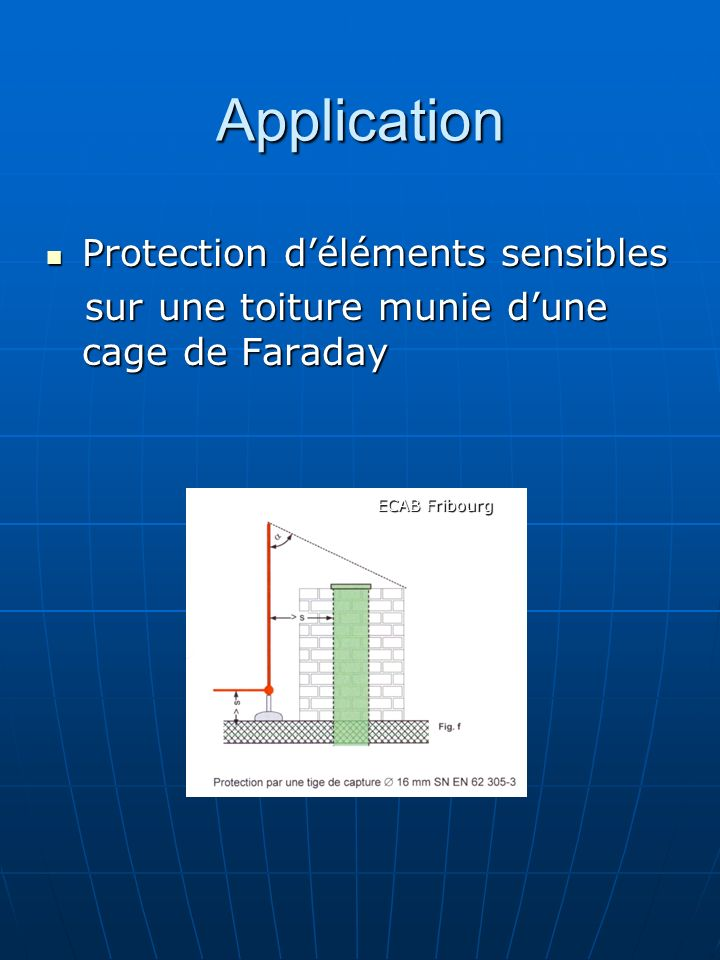 Application Protection d'éléments sensibles
