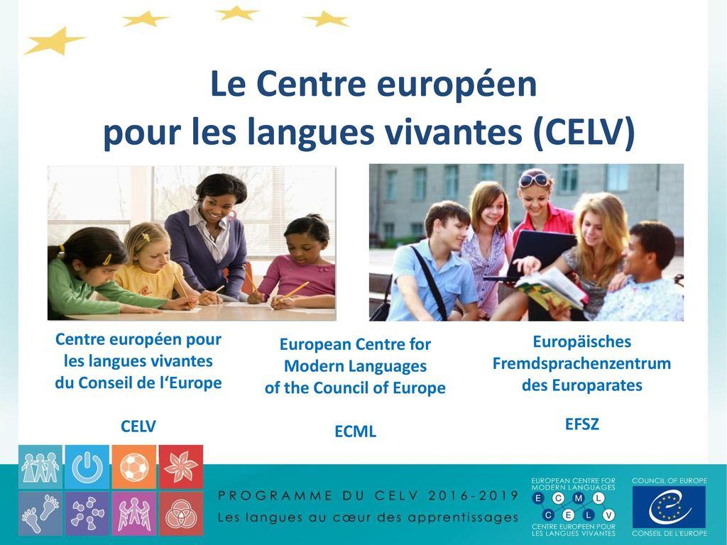 le centre europ u00e9en pour les langues vivantes  celv