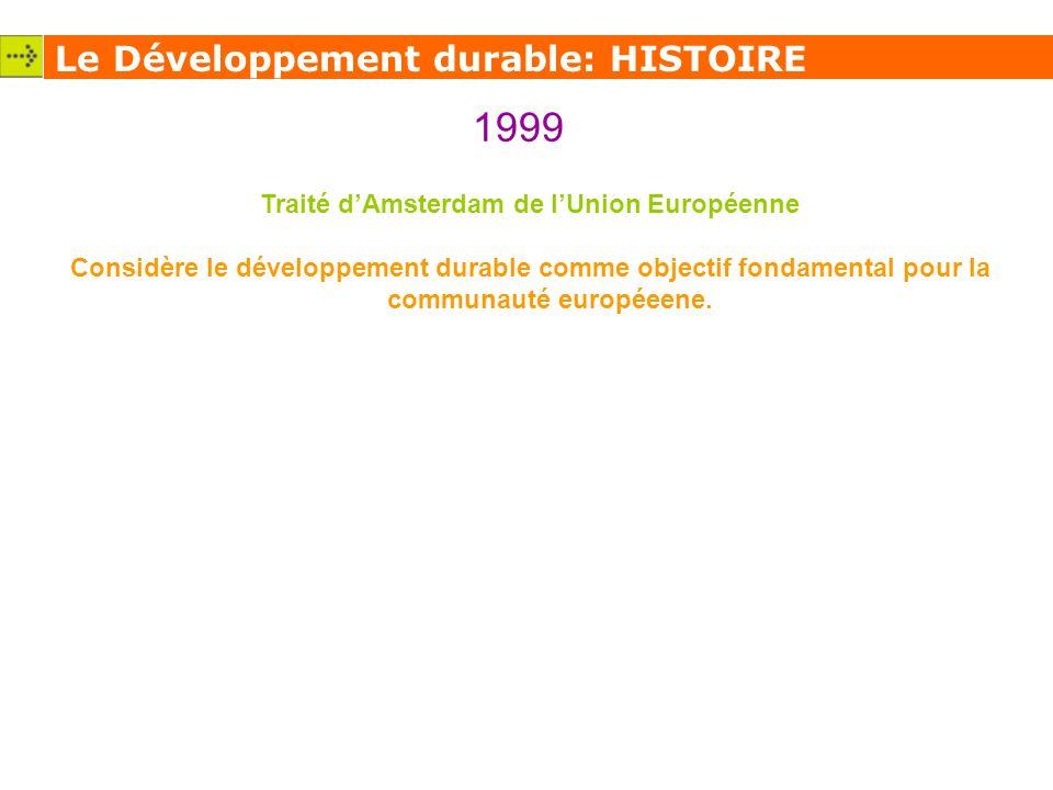 Traité d'Amsterdam de l'Union Européenne