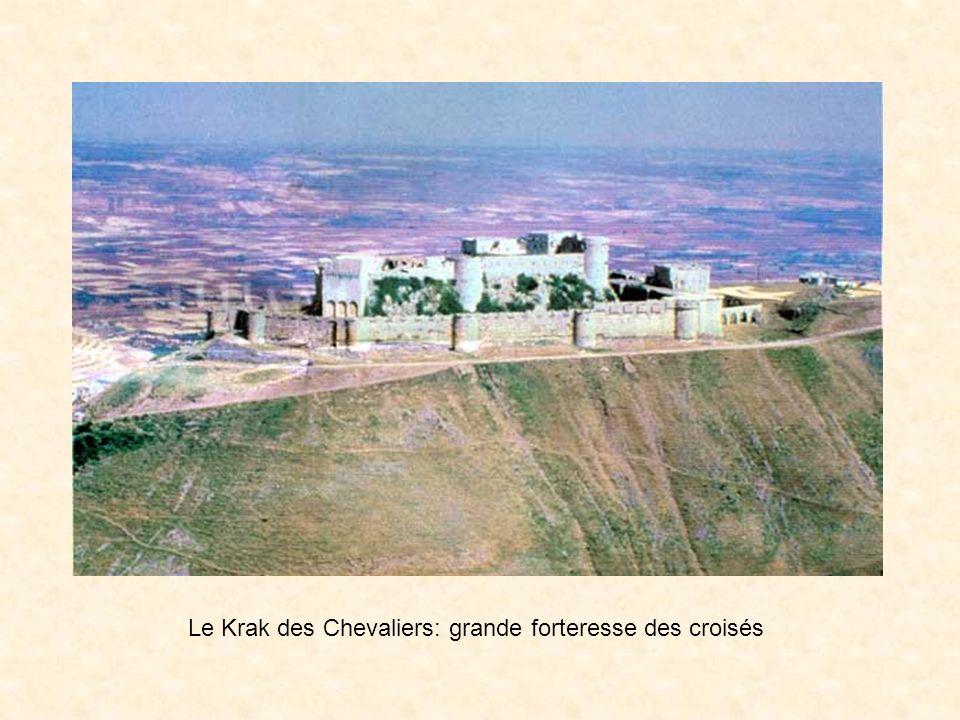 Le Krak des Chevaliers: grande forteresse des croisés