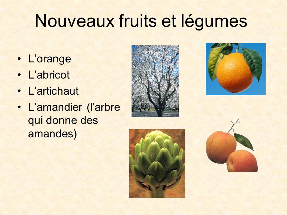 Nouveaux fruits et légumes