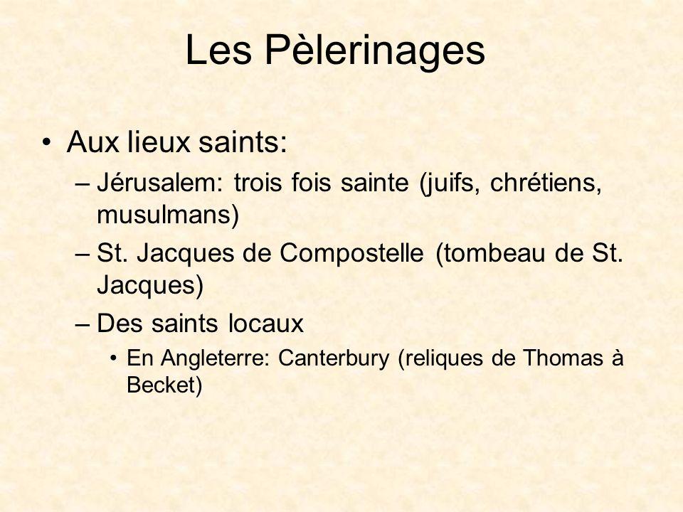 Les Pèlerinages Aux lieux saints: