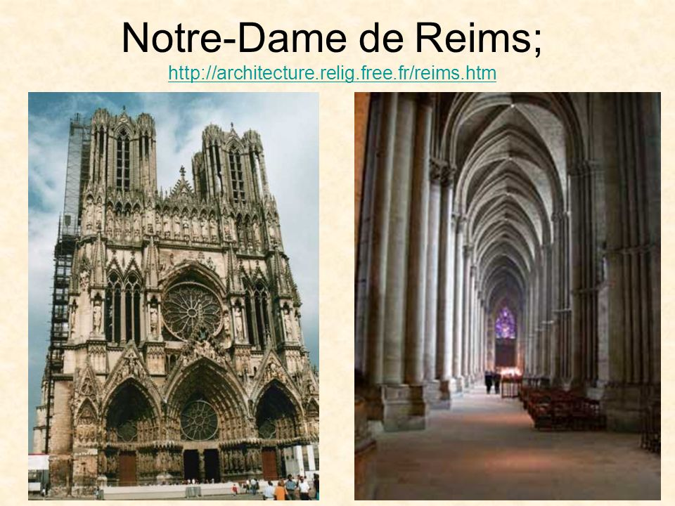 Notre-Dame de Reims; http://architecture.relig.free.fr/reims.htm