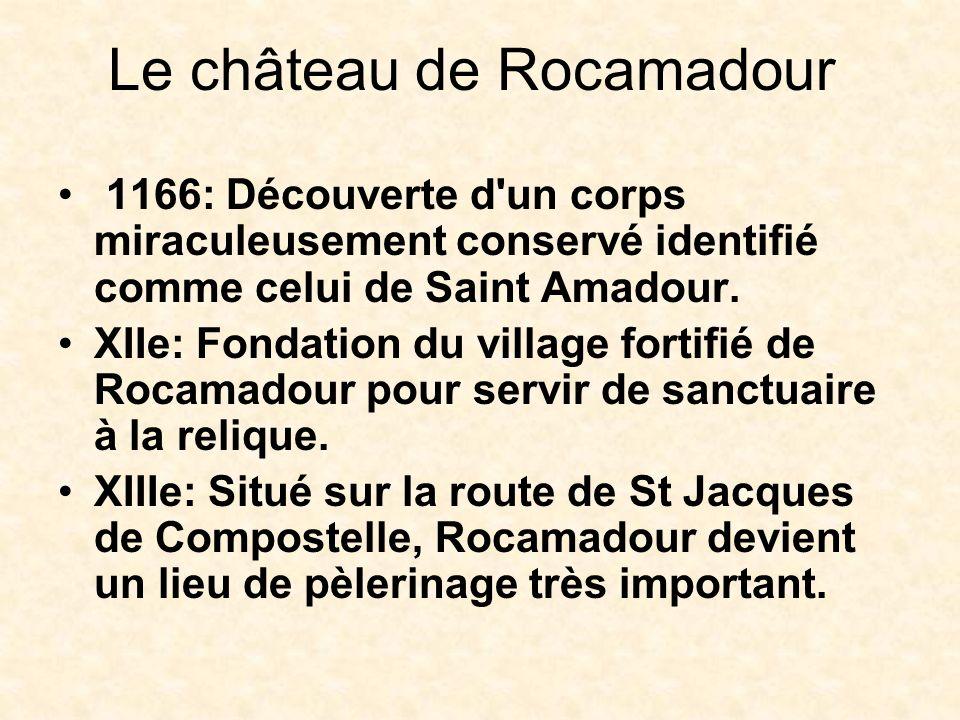 Le château de Rocamadour