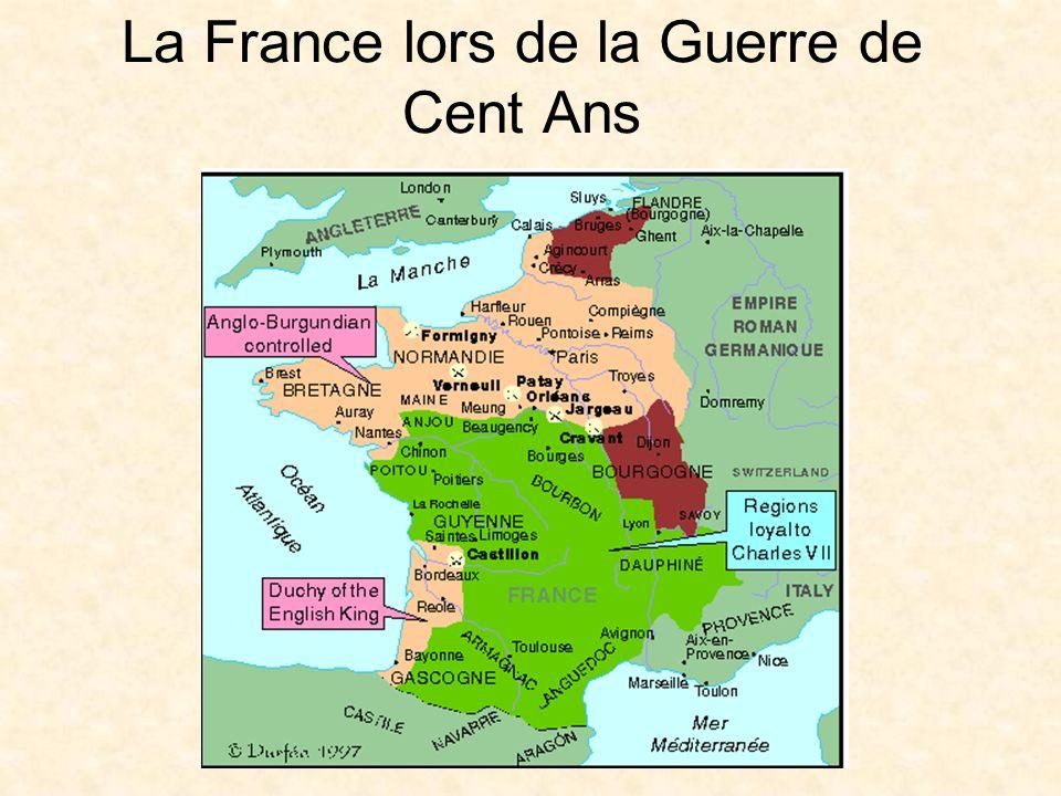 La France lors de la Guerre de Cent Ans