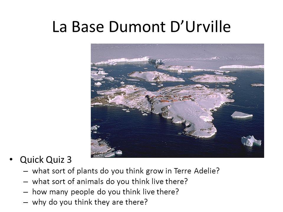 La Base Dumont D'Urville