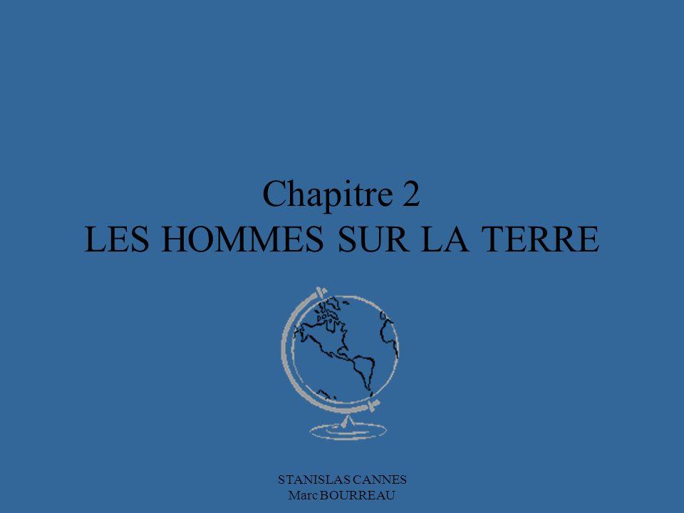 Chapitre 2 LES HOMMES SUR LA TERRE