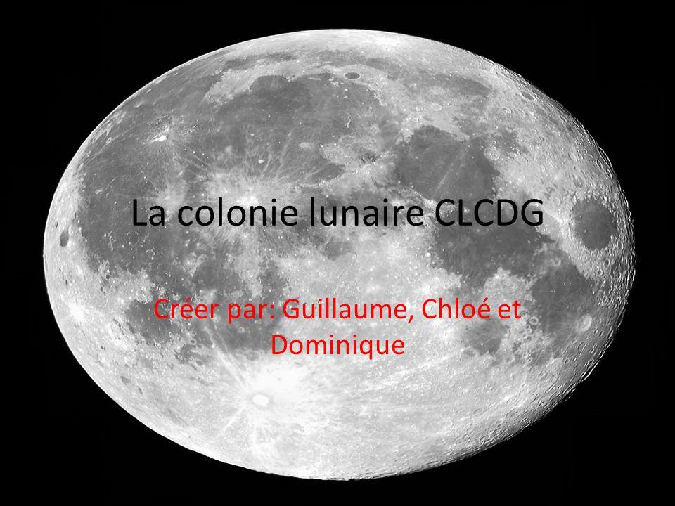 La colonie lunaire CLCDG
