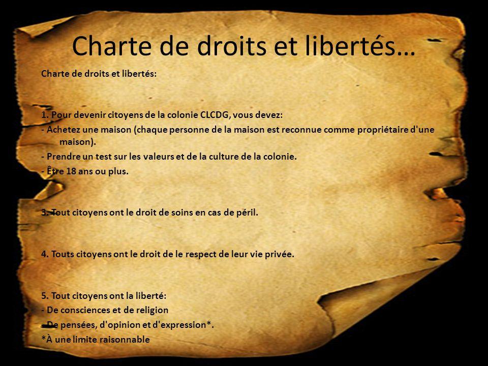 Charte de droits et libertés…