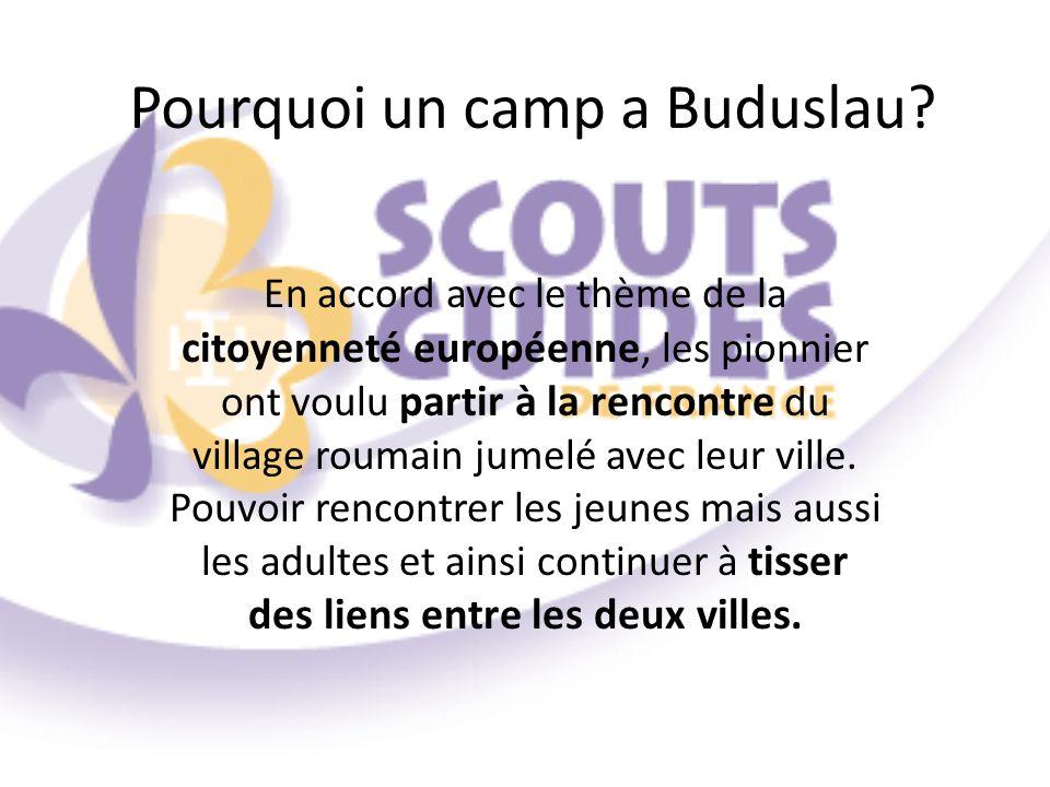 Pourquoi un camp a Buduslau