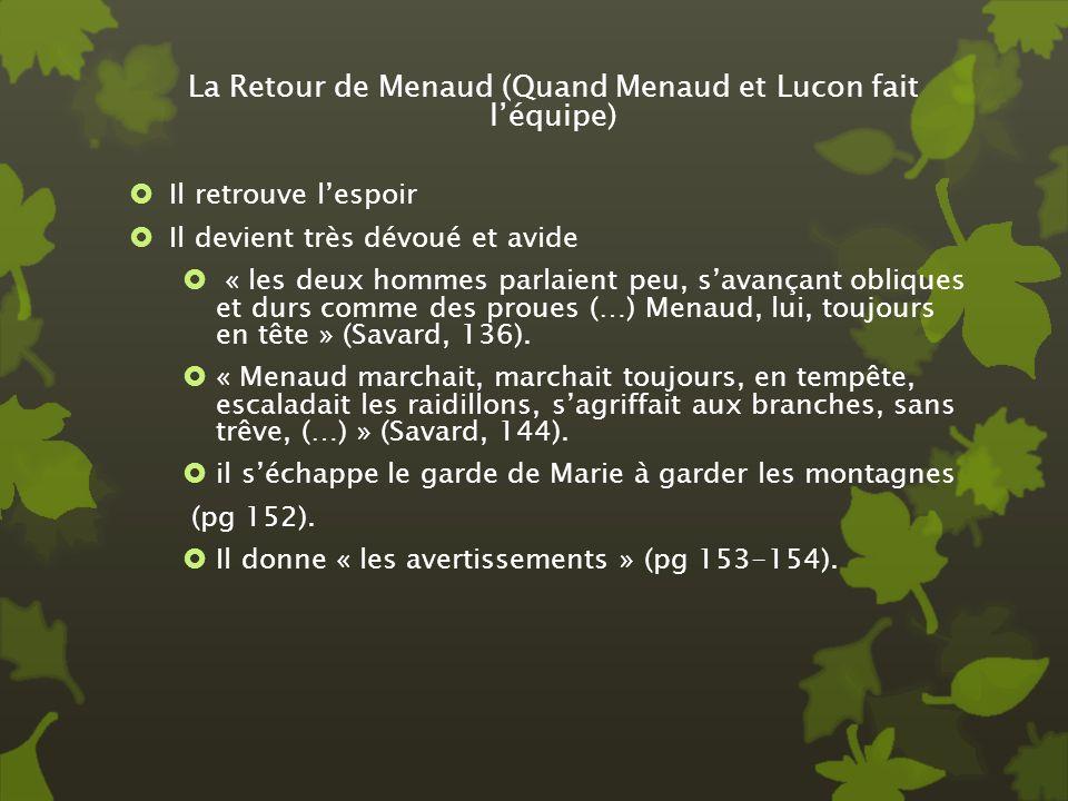 La Retour de Menaud (Quand Menaud et Lucon fait l'équipe)
