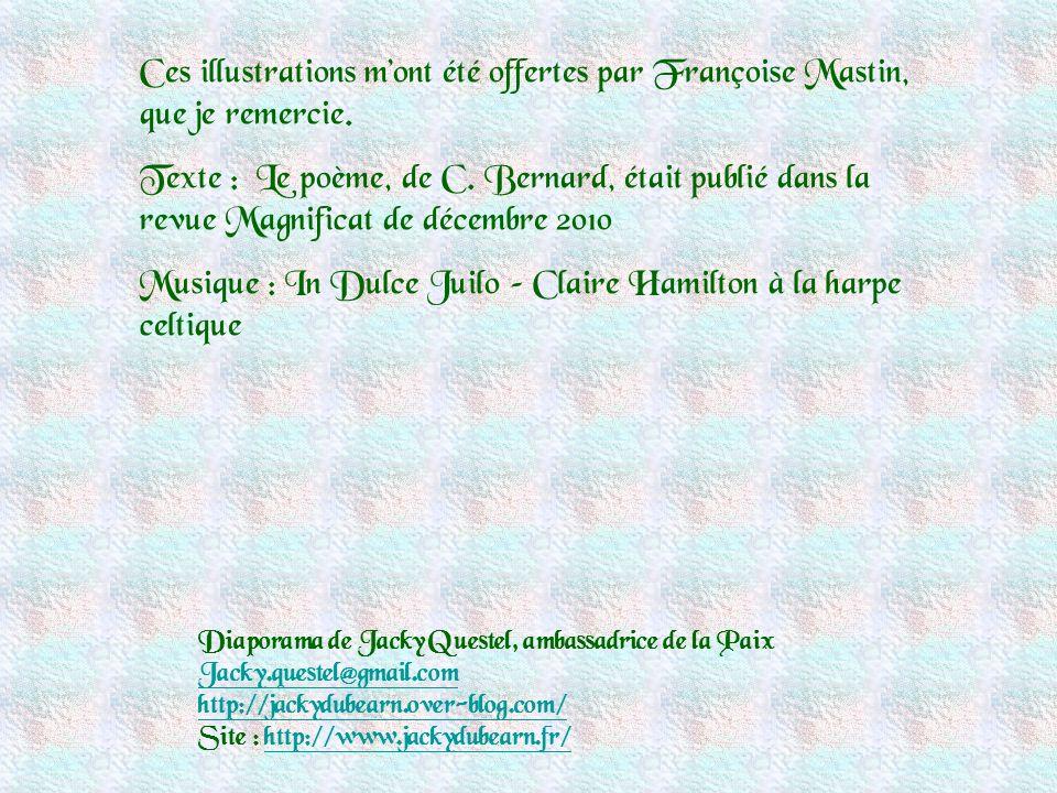 Musique : In Dulce Juilo – Claire Hamilton à la harpe celtique
