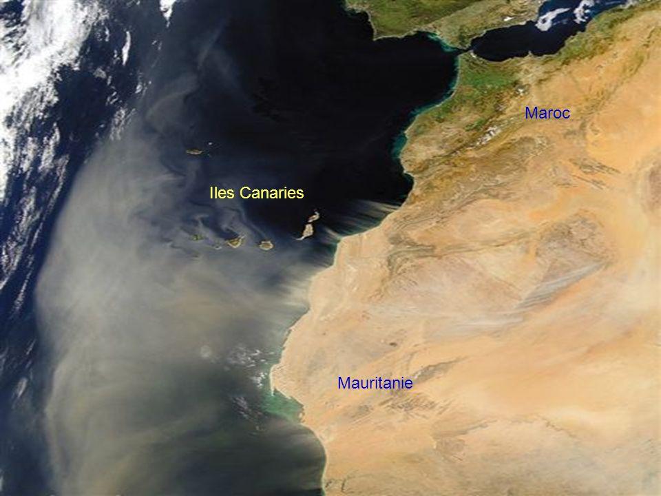 Maroc Iles Canaries Mauritanie