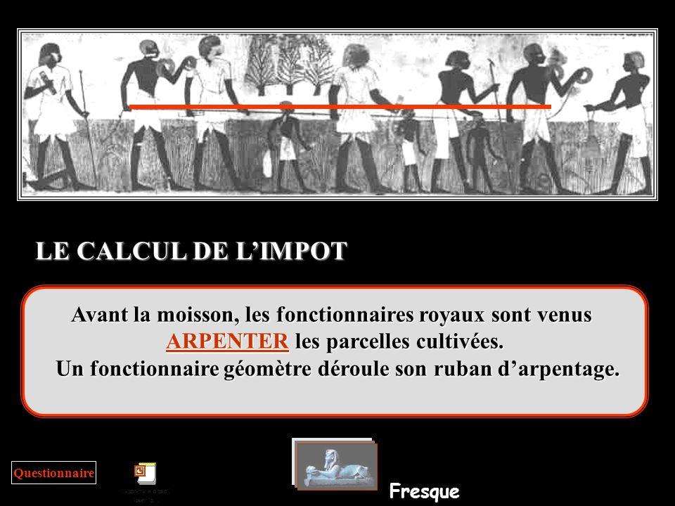LE CALCUL DE L'IMPOT