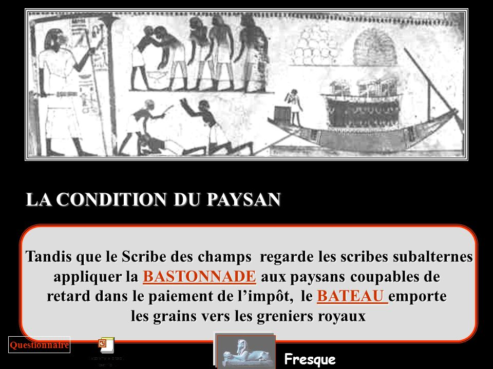 LA CONDITION DU PAYSAN