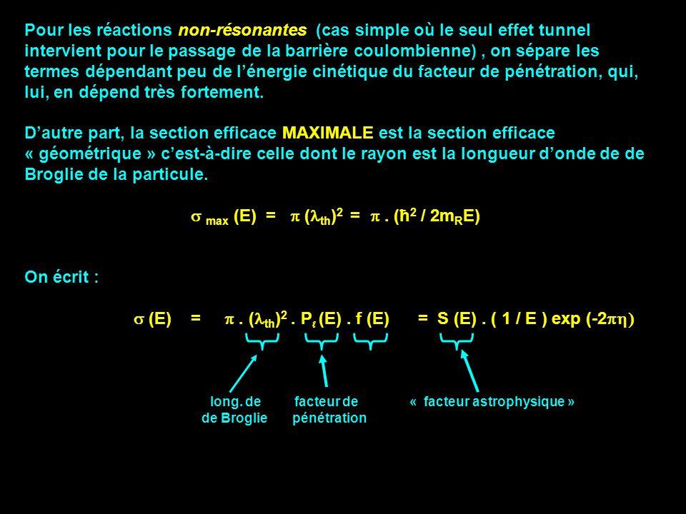 s max (E) = p (lth)2 = p . (ħ2 / 2mRE)