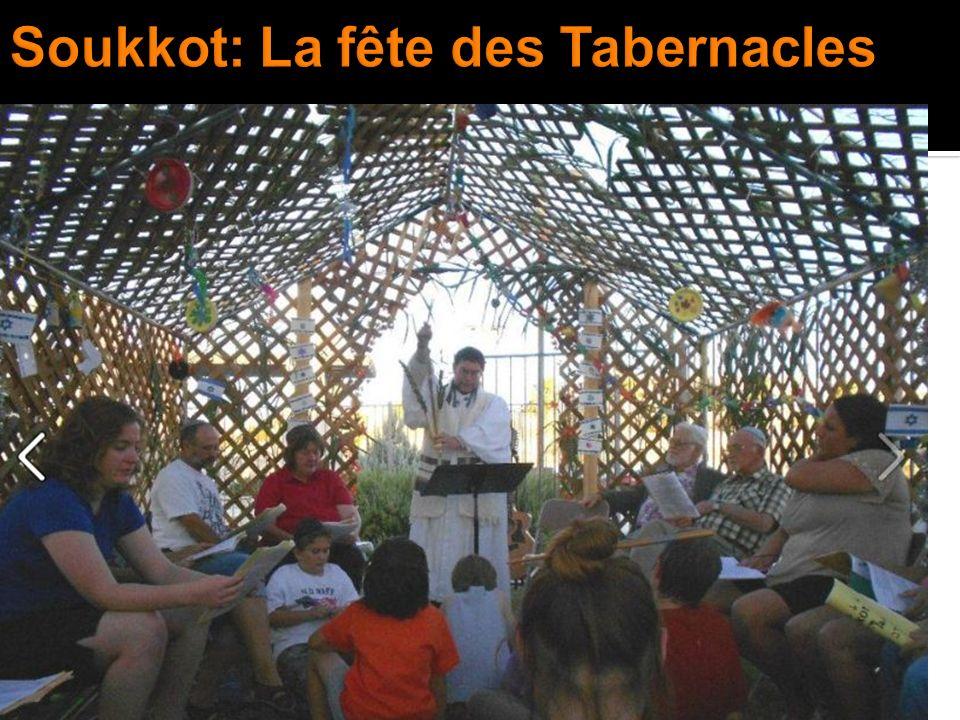 Soukkot: La fête des Tabernacles