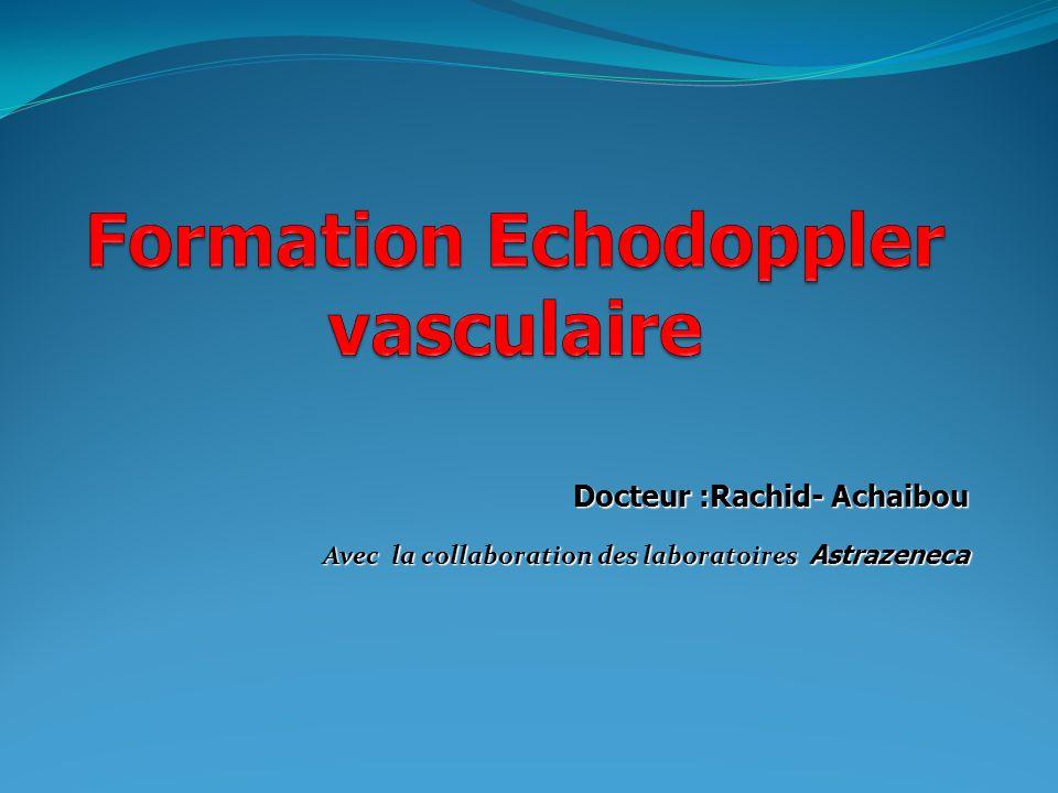Formation Echodoppler vasculaire