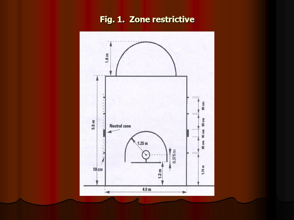 Fig. 1. Zone restrictive