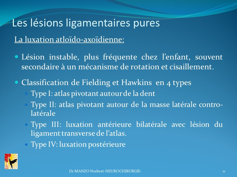 Les lésions ligamentaires pures