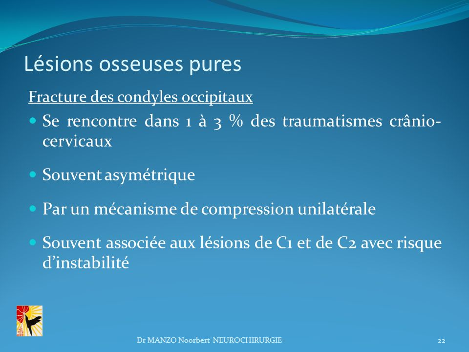 Lésions osseuses pures