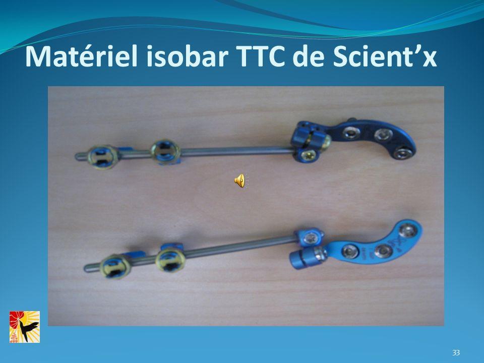 Matériel isobar TTC de Scient'x