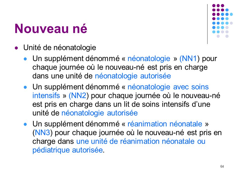 Nouveau né Unité de néonatologie