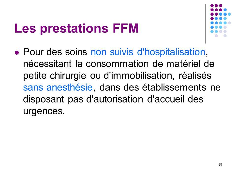 Les prestations FFM